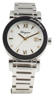 Ferragamo FERRAGAMO WOMENS SILVER PLATED STEEL WATCH