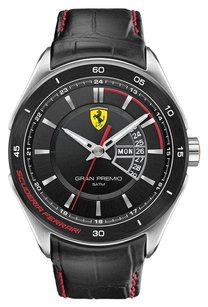 Ferrari Ferrari Men's 0830183 Gran Premio Analog Display Quartz Black Watch