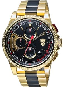 Ferrari Ferrari Men's Formula Italia S Quartz Stainless Steel Watch 0830316