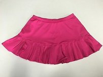 Fila Fila Womens Hot Pink Pleated Short Stretch Athletic Mini Skort Sma3489