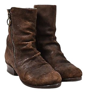 Fiorentini + Baker Suede Brown Boots