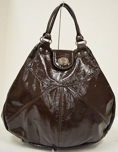 Foley + Corinna Corina Brown Glossy Tote in Browns