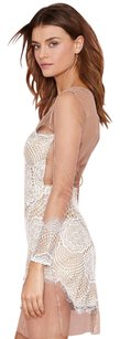 For Love & Lemons Lace Trim Dress