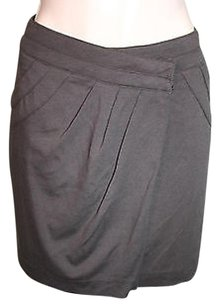 Forever 21 21 Love Olive Wrap Mini Skirt Brown