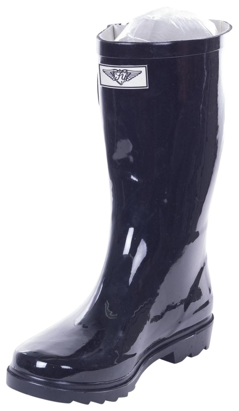 garden boots for women lady forever young rainboots wellies spring garden black boots 11 womens rubber rb1602