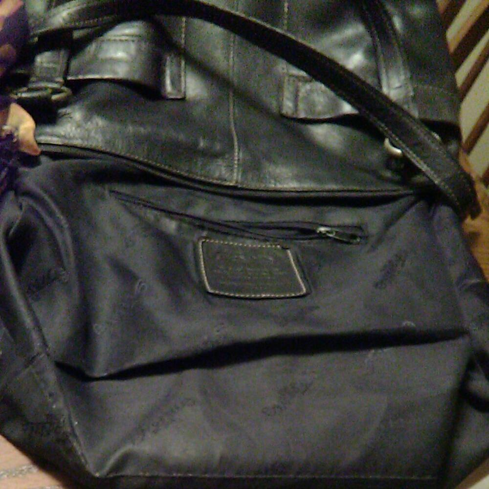 Fossil 1954 Purse Coach Dawson Satchel Espresso Two Strap Tote Solid Black Leather Shoulder Bag 960x960
