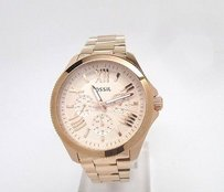 Fossil Fossil Cecile Rose Rose Gold-tone Steel Ladies Watch Am4511
