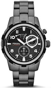 Fossil Fossil Dean Automatic Smoke Stainless Steel Mens Watch Me3039
