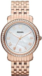 Fossil Fossil Emma Rose Gold-tone Ladies Watch Es3186