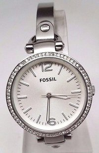 Fossil Fossil Georgia Glitz Stainless Steel Bangle Ladies Watch Es3225 Doesnt Work