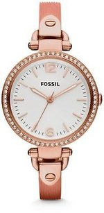 Fossil Fossil Georgia Rose Gold-tone Ladies Watch Es3237
