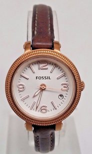 Fossil Fossil Heather Rose Gold-tone Stainless Steel Ladies Watch Es3139
