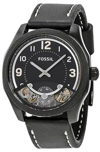 Fossil Fossil Leather Automatic Mens Watch Me1153