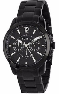 Fossil Fossil Men Quartz Chronograph Black Watch Fs4723
