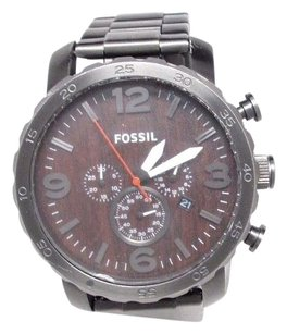 Fossil Fossil Watch Jr1355 Smoke 50mm Nate Stainless Steel