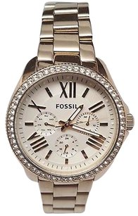 Fossil Fossil Womens Am4482 Cecile Multifunction Gold-tone Stainless Steel Watch