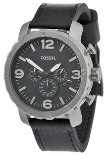 Fossil Men's Fossil Nate Titanium Chronograph Watch