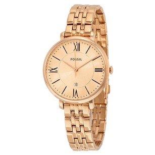 Fossil New Gold-tone Ladies Jacqueline Watch