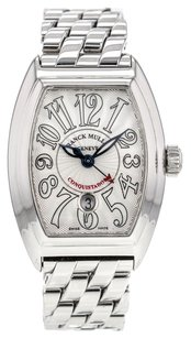 Franck Muller Conquistador 8005LSC Automatic Watch in Stainless Steel WTLFM4