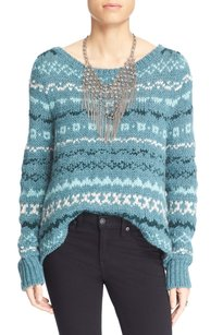 Free People Acrylic Long Sleeve Sweater