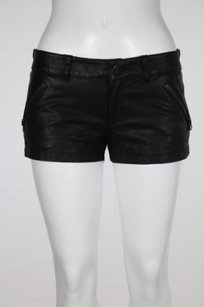 Free People We The Womens Casual 0 Hot Pants Shorts Black