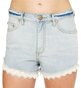 Free People Cut Off Shorts Denim