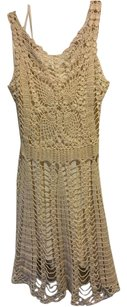 Free People short dress Beige Ivory on Tradesy