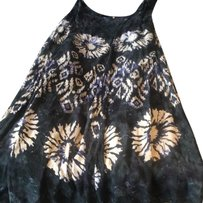 Free People short dress Navy Multi on Tradesy