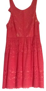 Free People short dress Pink Orange on Tradesy