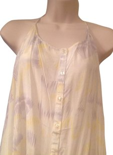 Free People short dress yellow/gray/white on Tradesy