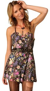 Free People Floral Halter Dress