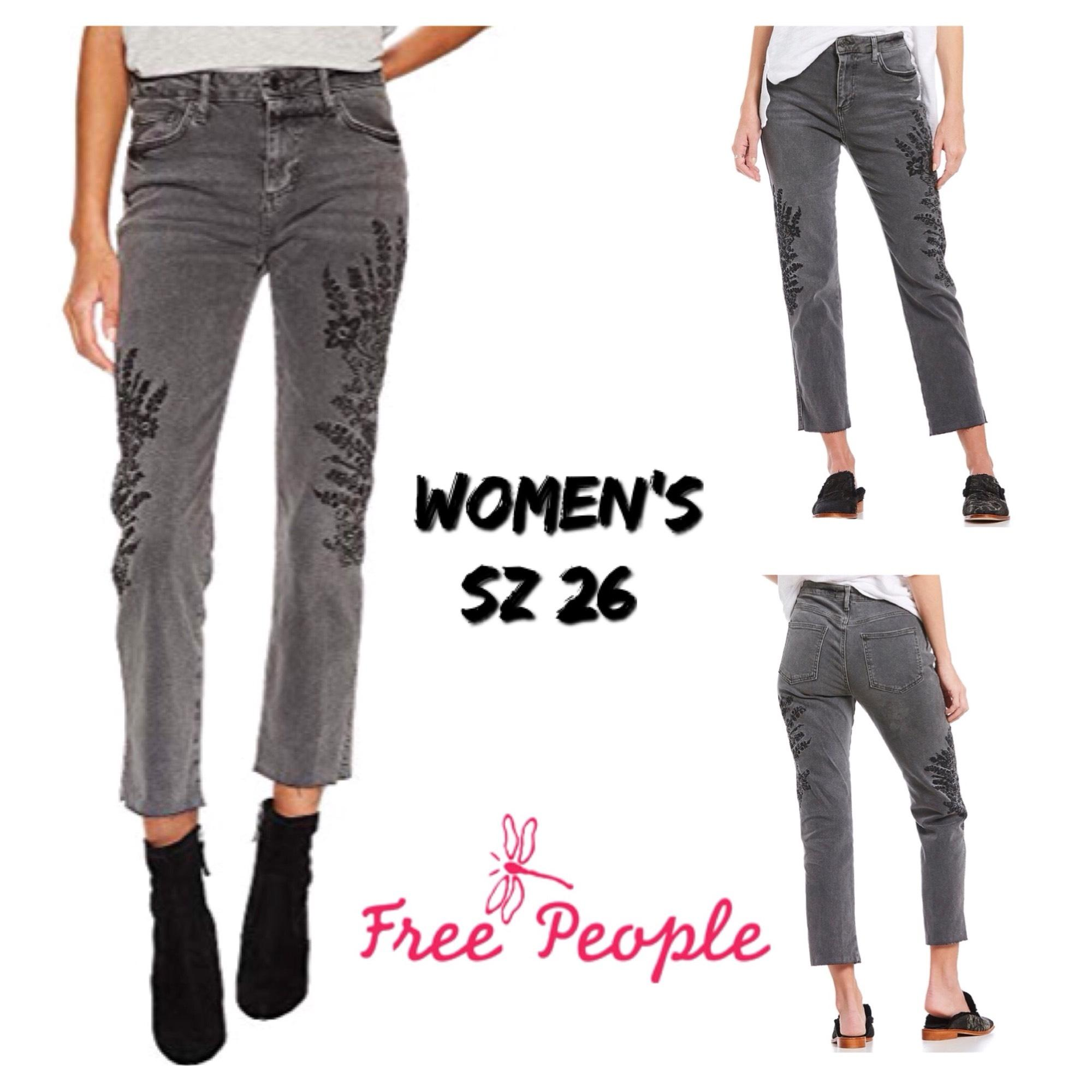The majority of boyfriend cut pants are jeans. Jeans have become extremely popular for their casual feel. They can easily be paired with a t-shirt or other casual top on your day off.