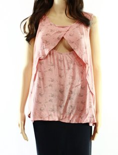Free People New With Tags Rayon Top