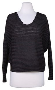 Free People Womens Black Sweater