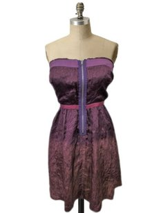 Free People Purple Gold Ombre Dress
