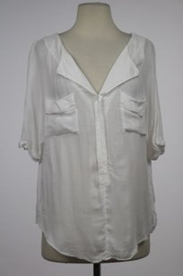 Free People Womens Top White