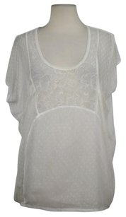 Free People Womens Color Top White