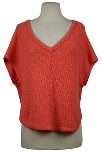 Free People People Womens Knit Cotton Sweater