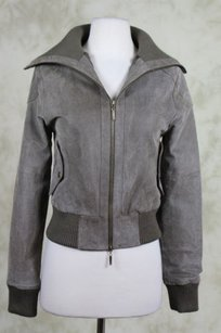 French Atmosphere Womens Basic Taupe Jacket