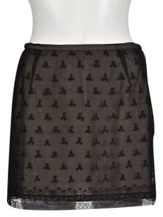 French Connection Petite Skirt Black