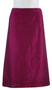 French Connection Womens Skirt Magenta