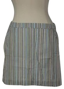 French Connection Womens Blue Skirt Multi-Color