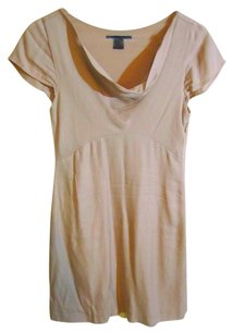 French Connection Natural Cowl Neckline Dress
