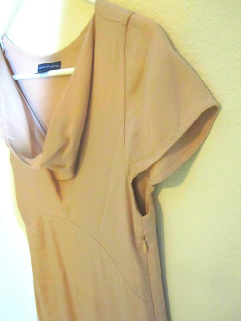 French Connection Cowl Neckline Empire Waist Wear To Dress