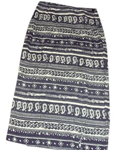 French Skirt Blue/White