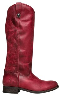 Frye Closed-toe Hintofcolour Melissabuttonburg-7.5 Red Boots