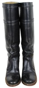 Frye Womens Solid Black Boots