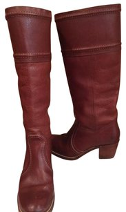 Frye Tall Leather Redwood Boots