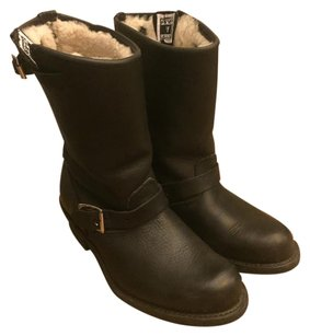 Frye Winter Boot Leather Black Boots