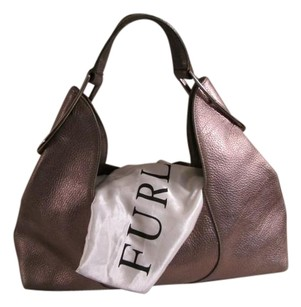 Furla Leather Monogram Hobo Bag